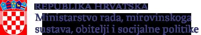 Logo Ministarstva rada, mirovinskoga sustava, obitelji i socijalne politike